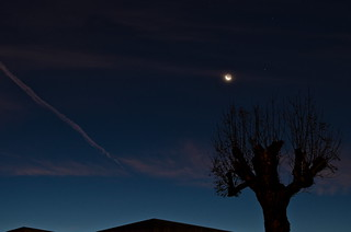 rapprochement Lune - Mars