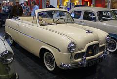 1955 Ford Zephyr Convertible (NSJ 854) 2300cc - Lancaster Insurance Classic Motor Show 2017 - Birmingham NEC (anorakin) Tags: 1955 ford zephyr convertible nsj854 2300cc lancasterinsuranceclassicmotorshow 2017 birmingham nec