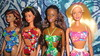 Hawaii Midge, Teresa, Christie and Barbie (PolynesianSky) Tags: hawaii christie barbie teresa midge mattel doll
