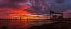 Panorama (Philippe POUVREAU) Tags: sunrise saintnazaire 2017 stxfrance celebr celebrityedge cruise cruiseship chantiernaval estuaire river loire maréebasse water november novembre paysdelaloire france sky ciel nuages bridge pont panorama panoramique loireatlantique brivet