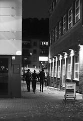 Walk (daniel.gogberg) Tags: fuji fujixpro2 fujixpro xpro2 xpro fujifilm acros bw blackwhite blackandwhite sverige sv svartvitt sweden night nightphoto nightlight nightlife nightphotography nightlights