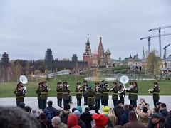 (a114nothing) Tags: moscow zaryadye kremlin military brass band park november 4th