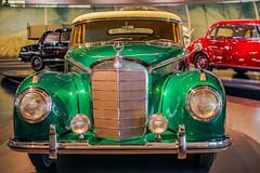Mercedes Benz Museum 300 S Cabrolet A (a7m2) Tags: cars oldtimer museum stuttgart daimlerbenz technik automobil