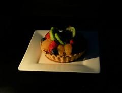 Low Key Challenge (Corgibird) Tags: tart pie pastry sweets foodpornbonbonschocolatescocoaboxofchocolatessweets foodie fruits kiwi manderinorange blueberries strawberries custard piecrust lowkey
