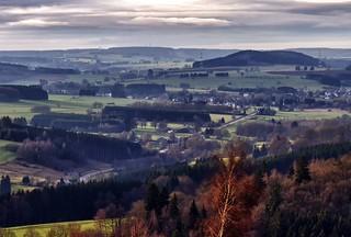 Panorama Bedinne (des Carrières)