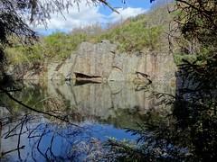 Sundayswells Quarry, Torphins, Aberdeenshire (aberdeen granite) Tags: sundayswells quarry granite scotland torphins aberdeenshire