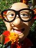 "Mr. Six has ""Marigold Madness""! (atjoe1972) Tags: sixflags mrsix elitchgardens marigold madness 2016 toy dolly wtf amusementpark flowerchild flowerpower flower atjoe1972"
