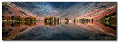 The Buttermere Bowl (Dave Massey Photography) Tags: buttermere lakedistrict cumbria reflection calm panorama
