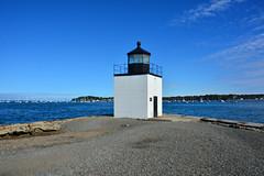 Massachusetts - Derby Warf Light Station (Jim Strain) Tags: jmstrain lighthouse salem massachusetts derbywarf