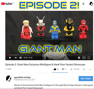 Episode 2: Giant Man Exclusive Review and Hank Pym Variants Showcase! [MEDIA]
