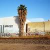 Palm (ADMurr) Tags: la eastside palm tracks warehouse grafittirolleiflex 35 e zeiss planar kodak ektar mf square 6x6 cab829