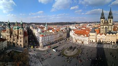 the  Old Town Square, Prague (jjamv) Tags: jjamv julesvtravel prague praha czechrepublic charlesbridge praag praga prag 布拉格 прага プラハ براغ 프라하 bohemia oldtown stare mesto sunrise morning cityscape street europe travel tourism outdoor skyline architecture building malástrana unesco českárepublika lgh960 lgv10 city citylife czech day outdoors urbanscene vacations sky sunset town townscape traveldestinations idyllic landmark peaceful 2017 ancient heritage historic worldheritage panorama roof tower oldtownsquare gothicarchitecture worldheritagesite aerialview prague–motherofcities stověžatápraha cityofahundredspires zlatéměsto ceská centraleurope pragamaterurbium prahamatkaměst cesko czechoslovakia ceskoslovensko janhusmemorial