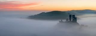 Ruins In The Fog (Pano)