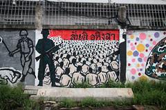 17 May 1992 Memorial graffiti (_gem_) Tags: travel bangkok thailand asia southeastasia khaosan khaosanroad graffiti streetart city street urban