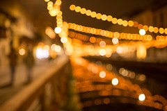 bokeh christmas light (freemanphoto) Tags: bokeh christmas light milano luminarie sfocato luci naviglio 2017 warm color 35mm tamron nikon d610 natale milan italia italy