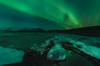 Green night (Toni_pb) Tags: islandia iceland ice landscape lagunaglaciar glacierlagoon glacier jökulsárlón winterscape water waterscape wild winter auroraborealis aurora beautifulearth green northernlight paisaje panorama panoramica pano minimalist mystic