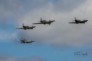 Battle of Britain Memorial Flight - Thompson Formation