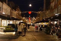 Bredgade by night (Steenjep) Tags: herning nat night street gade lys light jul christmas xmas shop people folk