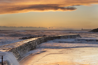 The Pier at cullercoats