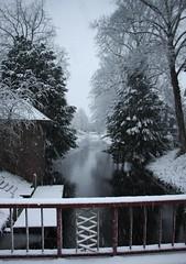 (Uno100) Tags: zutphen berkel holland snow winter 2017 hollands glorie slee water
