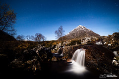 Etive Mor Moonlit (tristantinn) Tags: 2017 autumn explore highland highlands landscape nature outdoor scotland tristantinn winter glencoe etive mor buachaille moonlit astro astrophotography
