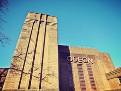 York Odeon [explored] (andyhutchcraft) Tags: york yorkshire england uk odeon cinema building artdeco sky blue brick