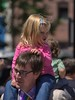 Shoulder Riders (swong95765) Tags: father man dad kid daughter ride shoulders cute blonde