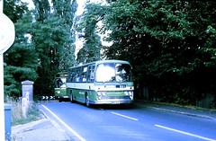 Slide 111-19 (Steve Guess) Tags: send surrey england gb uk lcbs london country bus rn10 barton aec reliance plaxton newinn canal bridge mrr810k