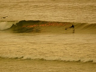 Surfing, Even if it's Tough to Breathe