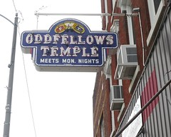 Oddfellows (Joanna Key) Tags: oddfellows neon salem illinois