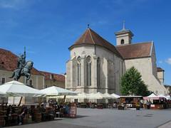 Alba Iulia Catholic Cathedral (D-Stanley) Tags: albaiulia cathedral romania hungarian transylvania