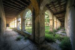 The garden (Michal Seidl) Tags: abandoned monastery abbandonato monastero church chiesa opuštěný klášter kostel hdr urbex architecture italy infiltration canon