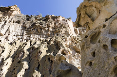 Bandelier II (rschnaible) Tags: bandelier national monument new mexico west western southwest us usa outdoor history historic landscape pueblo indian cliffs geology geologic