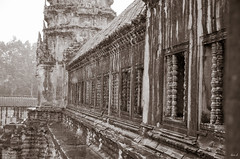 Raining - Angkor Wat