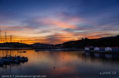 Luces de noviembre (Jaime GF) Tags: marina sea coast sky lights colors clouds puertodeportivo puerto mar costa cielo cielos nubes colores luanco gozón asturias spain nikon d7000