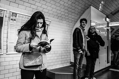 2 more pages, till the next train (Mustafa Selcuk) Tags: 2017 bild paris france street streetphotographer streetphotography travel blackandwhite bnw bw noiretblanc noir siyahbeyaz sb books readersonwheels reading reader fujifilm fujifilmfrance