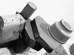Skulptur Ruud Kuijer 8 (schubertj73) Tags: ruud kuijer x10 fujifilm gimp skulptur skulpturen sculpture sculptures art kunst kunstwerk artwork artworks beton concrete kunstverein villa wessel iserlohn ausstellung vice versa nb bw noir blanc schwarzweis zwartwit sw schwarz weis black white monochrome camaieu exhibition