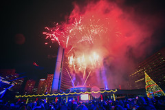 Fireworks @ The Cavalcade of Lights (A Great Capture) Tags: streetphotography streetscape street calle fireworks outdoor outdoors eos digital dslr lens canon cityscape urbanscape light colours colors colourful colorful efs1018mm 10mm wideanglecity downtown lights urban agreatcapture agc wwwagreatcapturecom adjm ash2276 ashleylduffus ald mobilejay jamesmitchell toronto on ontario canada canadian photographer northamerica torontoexplore fall autumn automne herbst autunno 2017 rebel t5i fire works