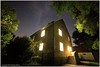 The House at Night (seb a.k.a. panq) Tags: night nightscape oldhouse summer latenight sebastianbakajphotography stars milkyway trees