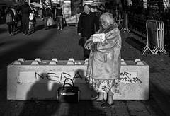 In the streets of Lille (zilverbat.) Tags: streetphotography streetcandid straatfotografie straatfotograaf peopleinthecity people portrait peopleinthestreet image streetlife streetshot blackwhitephotos portret blackandwhite bokeh world woman streetscene scenery straatportret blackwhite bw zilverbat zwartwitfotografie zwartwit france frankrijk lille rijsel noir black blanco blackandwhitephotography svp poverty citylife timelife magnum roadblok