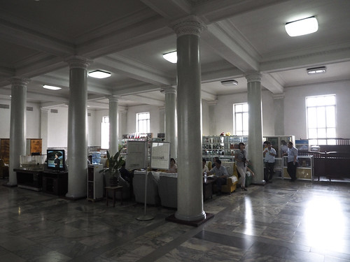 refreshment Room  at the Pyongyang train station