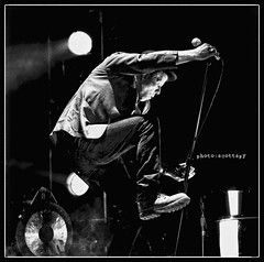 Happy Birthday to the one and only Tom Waits! (Scottspy) Tags: tomwaits blackandwhite singer concertphotography concerts legends singersongwriters livemusic bw actionshots raindogs