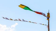 Untitled (#Weybridge Photographer) Tags: canon slr dslr eos 5d mk ii nepal kathmandu asia mkii trek trekking himalaya himalayas prayer flags flag pole post