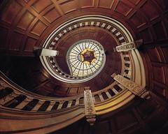 Spiral staircase II - Kodak Portra 160 by dgenuario -