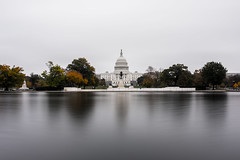 U.S. Capitol (soomness) Tags: capitol fall autumn autumnleaves architecture landscape water longexposure fujifilmxt2 fujifilm fujinon fuji xf16mmf14wr xt2 xseries washingtondc washington dc