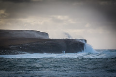 Big Waves (MBDGE 1Million+Views) Tags: orkney bayofskaill wave storm sea atlantic seascape cliff spray gale crash uk scotland alba scenery waves winter