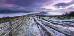 The Great frosty Ridge. (John Finney) Tags: greatridge castleton derbyshire highpeak edale sunrise frosty frost weather explore