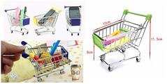 mini Shopping Cart (Aarjelin) Tags: bjdfurniture doll furniture dollfurniture 16 112 18 barbie barbiefurniture
