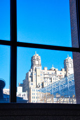 amnh looking outwards (avflinsch) Tags: ifttt 500px street building nyc windows frame amnh