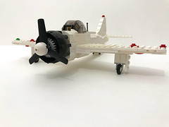Mitsubishi A6M Zero (TheMachine27) Tags: lego wwii japanese airplane a6m aviation pacific military mitsubishi
